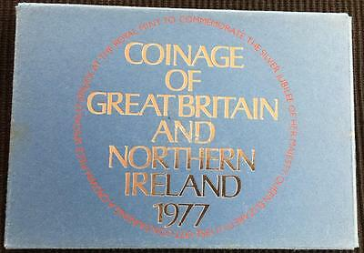1977 The Coinage Of Great Britain And Northern Ireland Proof Coin Set