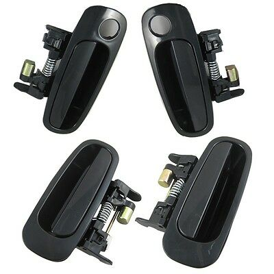 NEW Outside Door Handle Front Rear Fit For toyota corolla 98-02 Left Right 4PCS