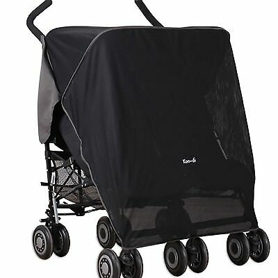 Koo-di Pack It Universal Sun and Sleep Shade For Double Pushchair / Stroller