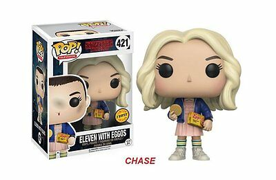 Funko Pop  TV Stranger Things Eleven In Wig w/ Eggos 421 13318 Chase