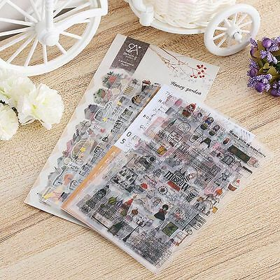 DIY Crafts Sticky Notes Album Paper Cards Scrapbooking Planner Stickers
