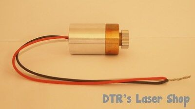 20mm 1.3W NDG7475 520nm Laser Diode In 20mm Copper Module W/Driver & G-2 Lens