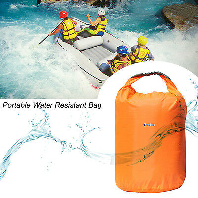 Bluefield 10L Waterproof Camping Bag Portable Water Resistant Light Weight GT