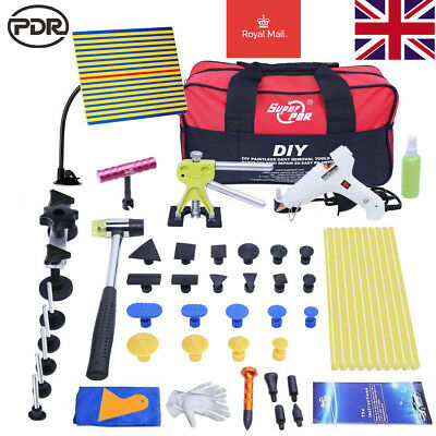 UK PDR Tools Paintless Dent Removal Puller Lifter Hail Repair Line Board Tap Kit