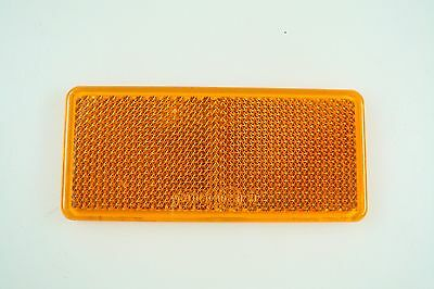 Brand New Car Trailer Boat Truck Lorry Reflector Red Orange White 75mm NR 7216