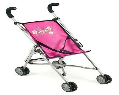 Bayer CHIC 2000 Mini-Buggy Puppenbuggy Puppenwagen Roma Pink 60112