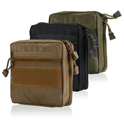 1000D Tactical Military EDC Molle Utility Tool Bag Medical First Aid Pouch Bag
