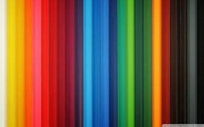 100 quilling  paper strips in various colours - 5mm wide