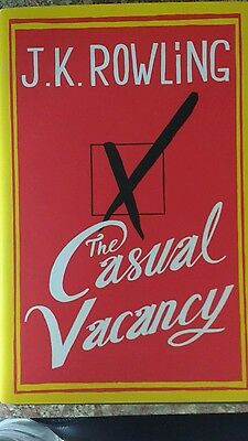 The Casual Vacancy by J. K. Rowling  - Signed First Edition with Hologram