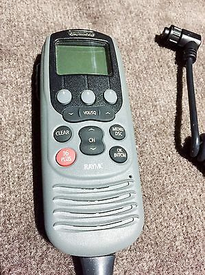 Raymarine RayMic Second Station - A46052 for Ray55E VHF. Mic Only. As New.