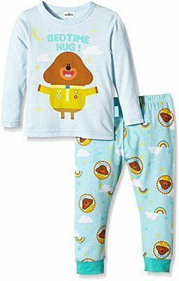 Fab Cbeebies Bbc Official Boys Blue  Hey Duggee Cotton Pyjamas Ages 1-6