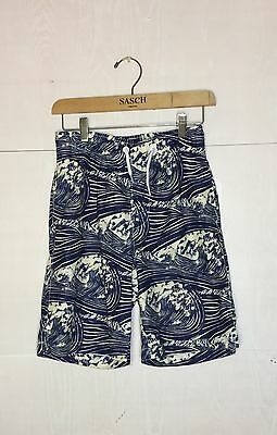 Gap Boys XL Size 12 Blue Printed Shorts Swim trunks Bathing suit Kids Clothes