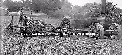Steam Cultivator At Pulborough Sussex 1934 Vintage Mounted Print Farming History