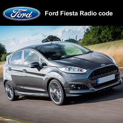 Ford Fiesta Radio Code Stereo Codes Pin Car Unlock Fast Service 6000cd, 4500 RDS