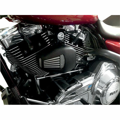 Jims Forceflow Head Cooler Harley Twin Cam Touring Models 1999-2016 Black