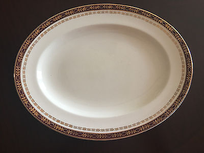 "Alfred Meakin Kingsdale 11"" Oval Platter Excellent Condition"