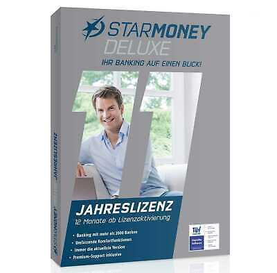 Star Finanz StarMoney 11 Deluxe - Vollversion/Update  Deutsch - 1 Jahr - DVD-Box