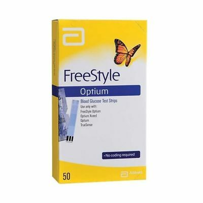 Abbott Freestyle Optium Blood Glucose Strips Free Shipping