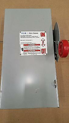 Eaton DH361UGK Heavy Duty Safety Disconnect Switch 30A 600V Nema 1 Non-Fusible