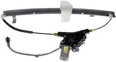 Power Window Motor and Regulator Assembly Rear Left fits 04-12 Nissan Titan