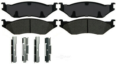 Disc Brake Pad-Severe Duty Brake Pads Ideal fits 99-04 Ford F-450 Super Duty