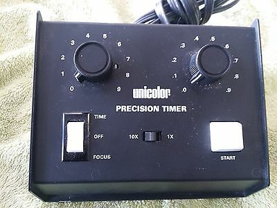 Unicolor Precision Timer Model 760 Photo Developing Enlarger Dark Room
