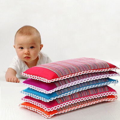Soft Cotton Baby Pillow Breathable Buckwheat Sleeping Pillow for Infant Children