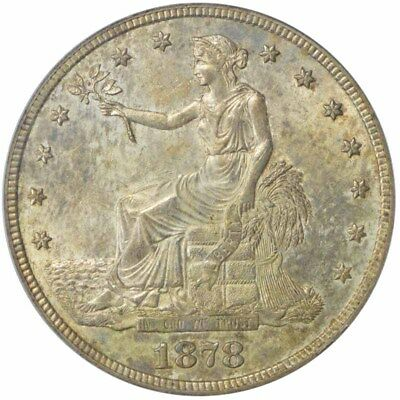 1878-S T$1 Trade Dollar PCGS MS62 CAC