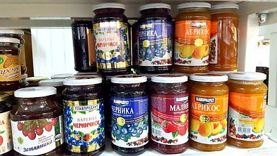 Russian jam , marmelade of traditional popular tastes! Natural. DELICIOUS! Enjoy