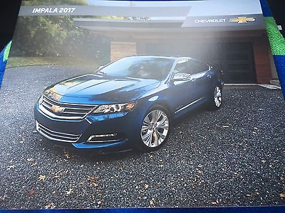 2017 Chevy IMPALA 32-page Original Sales Brochure