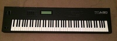 Roland a-80 88-key weighted action MIDI controller polyphonic aftertouch