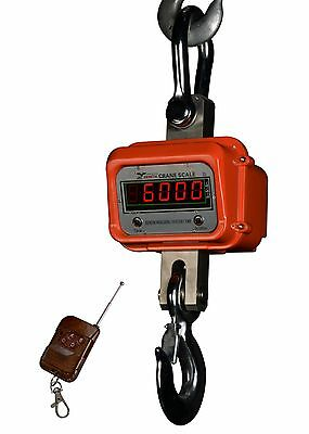 PS-Z-CR-L 6000x1 Heavy Duty Crane Scale | Hanging Scale Large Enclosure