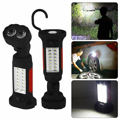 Portable Camping Work Light 360 Degree Rotating Hanging Magnetic Base Lot GT