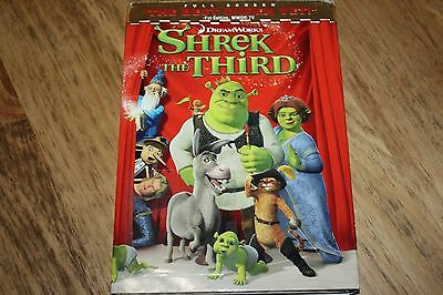 Shrek the Third (DVD, 2007, Full Screen Version) MIKE MYERS, EDDIE MURPHY