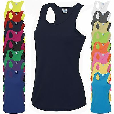 AWDis Cool Girlie Vest JC015 Gym Running Breathable Fitness Top Wickable Vest