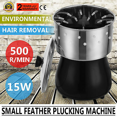 Small Feather Plucking Plucker Machine Defeather Chicken Stainless Steel Pro