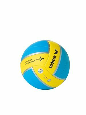Erima Beachvolleyball King of the Beach Gr. 5 aqua blau gelb Volleyball Ball