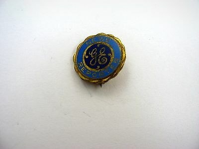 Rare Vintage Collectible Pin: General Electric GE News Reporter