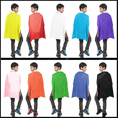 Childrens Fancy Dress Cape Kids Halloween Cloak Stylish Gorgeous Wonderful •