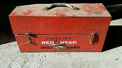 Phillips Red Head Impact Hammer Tool Model 457