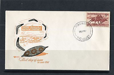 1961 5/- Cattle Cream Paper Unaddressed Royal FDC, Mint Condition