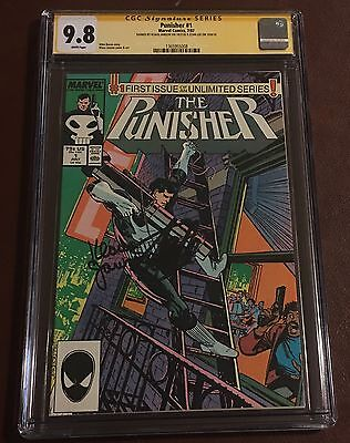 Punisher (1987) #1✳️CGC SS 9.8✳️SIGNED 2x BY STAN LEE AND KLAUS JANSON✳️✳️