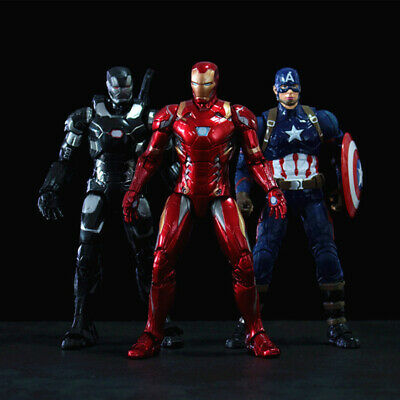 Iron Man War Machine Action Figuren Modell, Marvel Superhelden, Neu