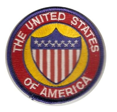 ++ Badge Abzeichen Aufnäher Patch - The United States of America - Kutte