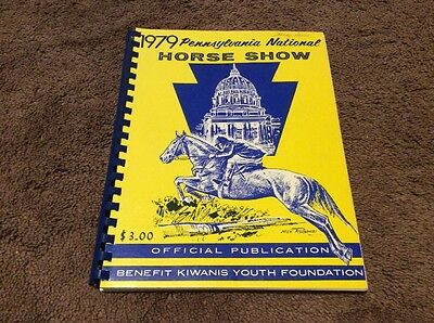 1979 Pennsylvania National Horse Show Program