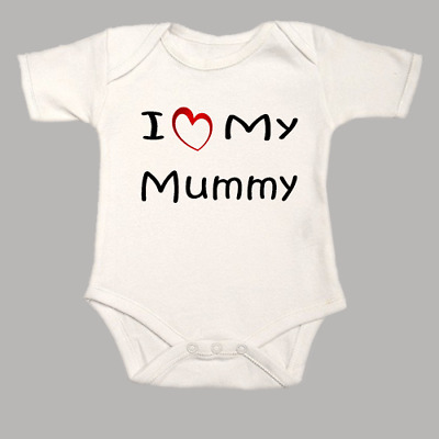 """Funny Baby Bodysuit /""""I love Boobies like Daddy/"""" Dad Babygrow Clothes Vest"""