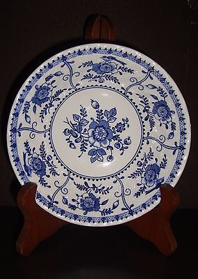 "Johnson Brothers Indies Blue 6"" Coupe Cereal Bowl-4 available"