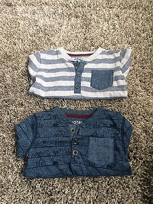 Baby Boys Long Sleeved Tops 9-12 Months
