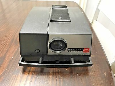 Vintage Airequipt 135 Automatic 35mm Slide Projector w/ Remote