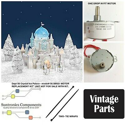 Department 56-Crystal Ice Palace-56.58922- Replacement Motor -Parts Kit